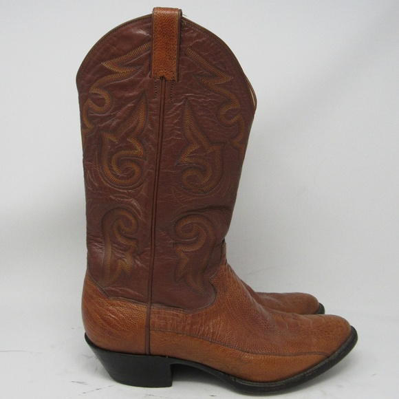 4d458fbf2e7 🇲🇽 Panhandle Slim ostrich leg cowboy boots 9.5D